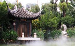 昆明市莲花池公园表演舞台冷雾项目2013年(点击查看)