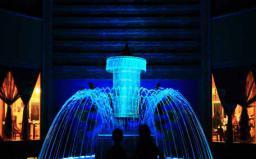云南香格里拉小型幻彩变频喷泉