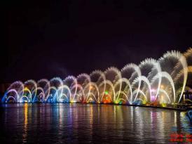 大型湖面音乐喷泉项目