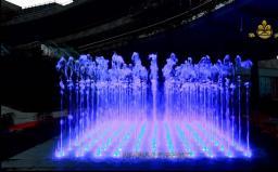 昆明喷泉工程——润城矩阵音乐喷泉视频