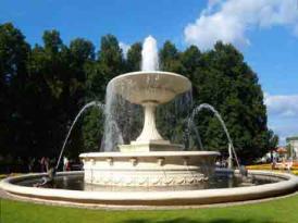 雕塑叠水、跌水喷泉