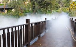 云南喷泉雾化工程案例视频