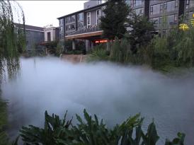 雾化工程案例展示 高压冷雾工程
