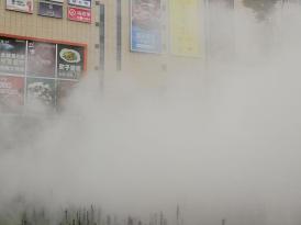 昆明隆盛府售楼处高压冷雾工程—雾化工程设计