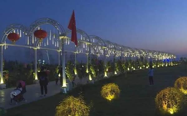 伊宁生态文化公园音乐喷泉——公园喷泉工程