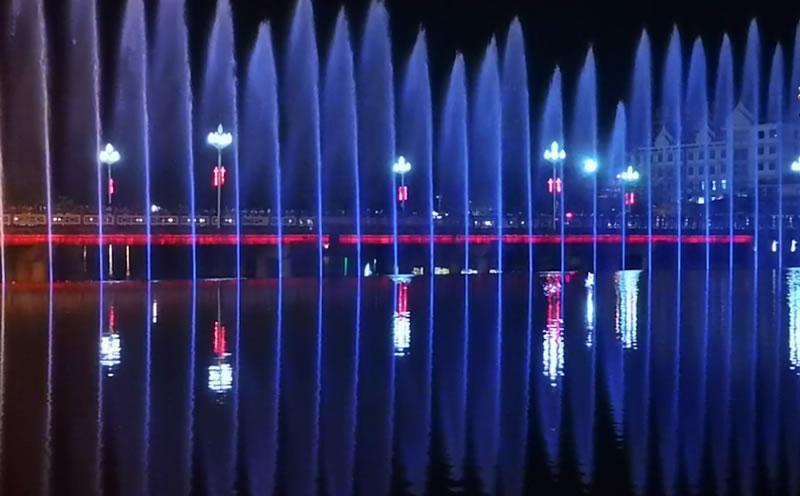 云南喷泉工程水下灯光照明及电气施工分析