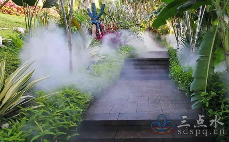人造高压冷雾系统的实际应用和工作原理
