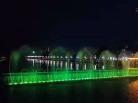 数控音乐喷泉公司案例——云南孟连音乐喷泉视频