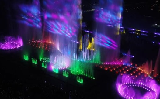 沈阳浑南中央公园音乐喷泉一日三场送清凉—云南喷泉公司