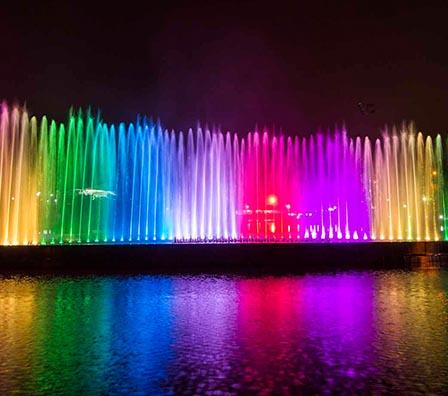 水景大型湖面组合喷泉