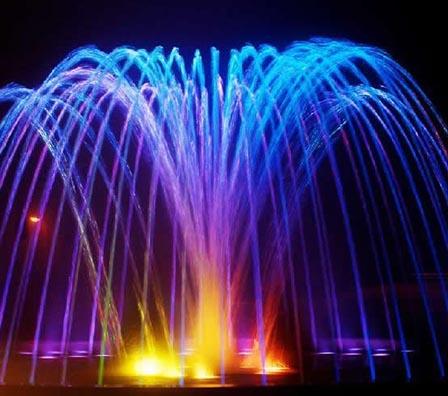 多效音乐喷泉