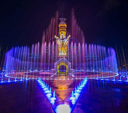 马来西亚吉打大型综合音乐喷泉