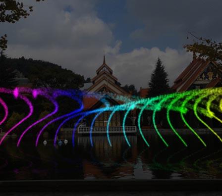 多维数码特殊喷泉