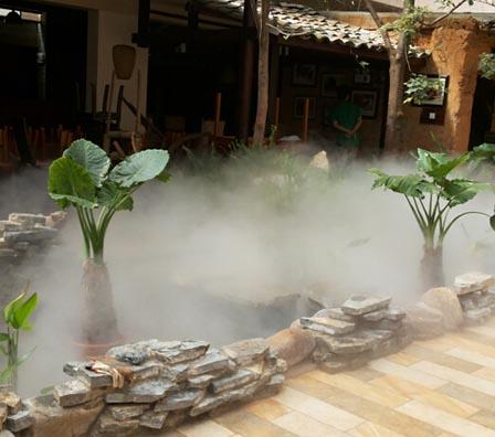 人造高压水雾
