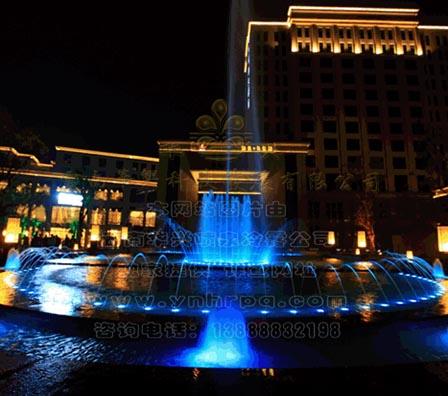 酒店良幻彩程控喷泉