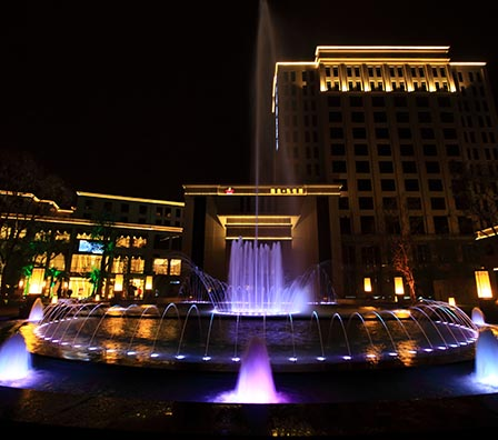 幻彩程控喷泉