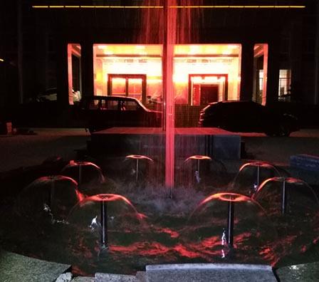蘑菇程控喷泉