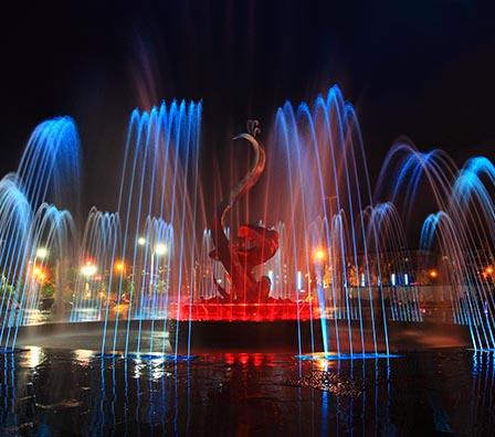 综合程控喷泉